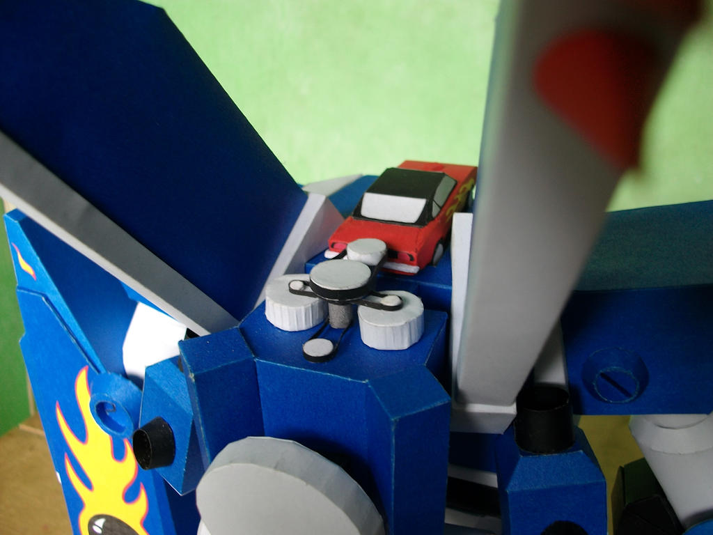 Papercraft M.E.G.A.S. Engine Compartment by MarcGo26