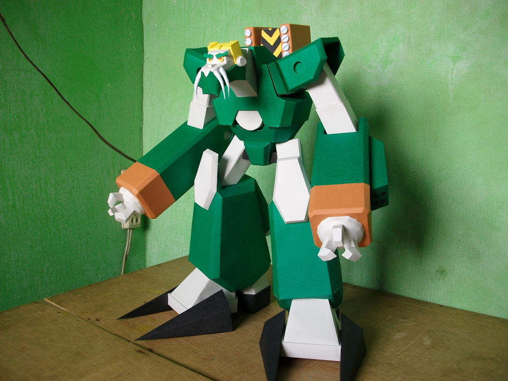 Papercraft Warmaster Gorrath's Mech by MarcGo26