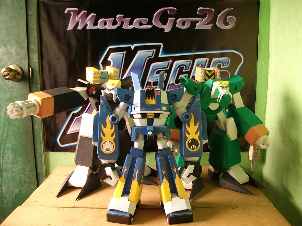 Rearveiw Mirror: Megas XLR Team Reunion by MarcGo26