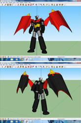 Shin Mazinger God Scrander Ver. 3d Model *DONE*