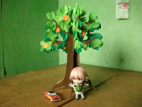 Papercraft Summer Tree