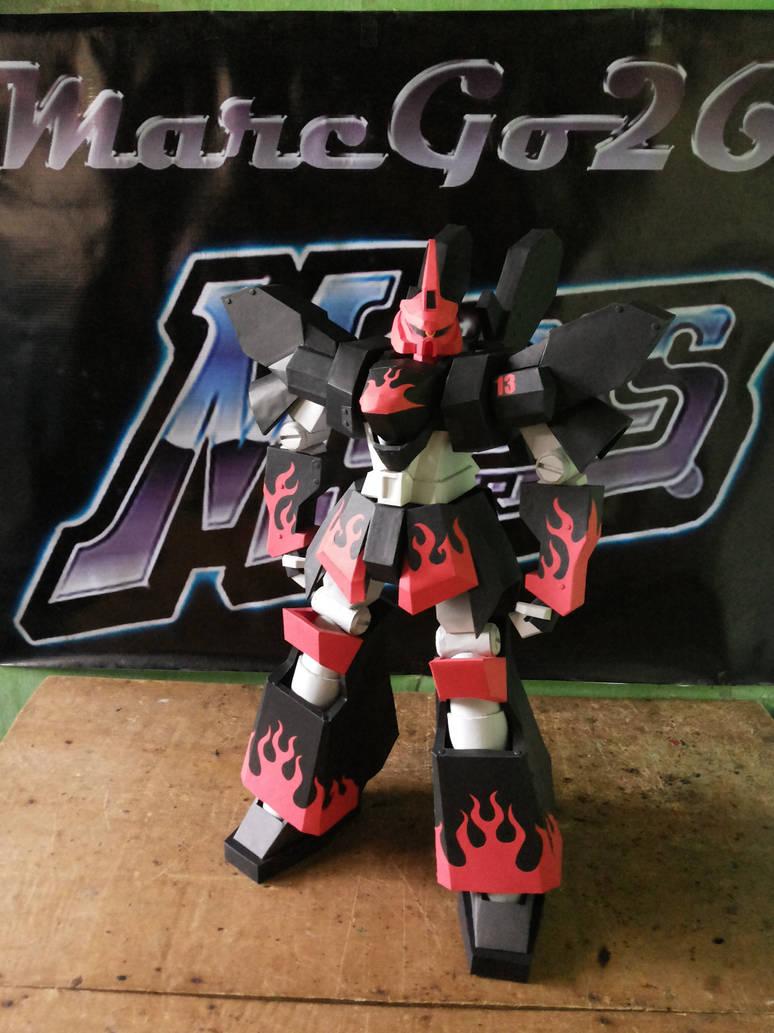 Megas XLR Project:Papercraft Evil Megas Complete