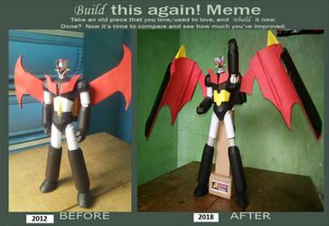 Re-Build Meme for Goldenglue's Mazinger Z
