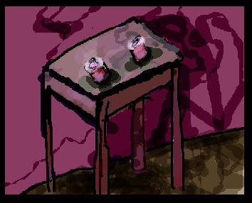 This Creepy Table by veganyaoi