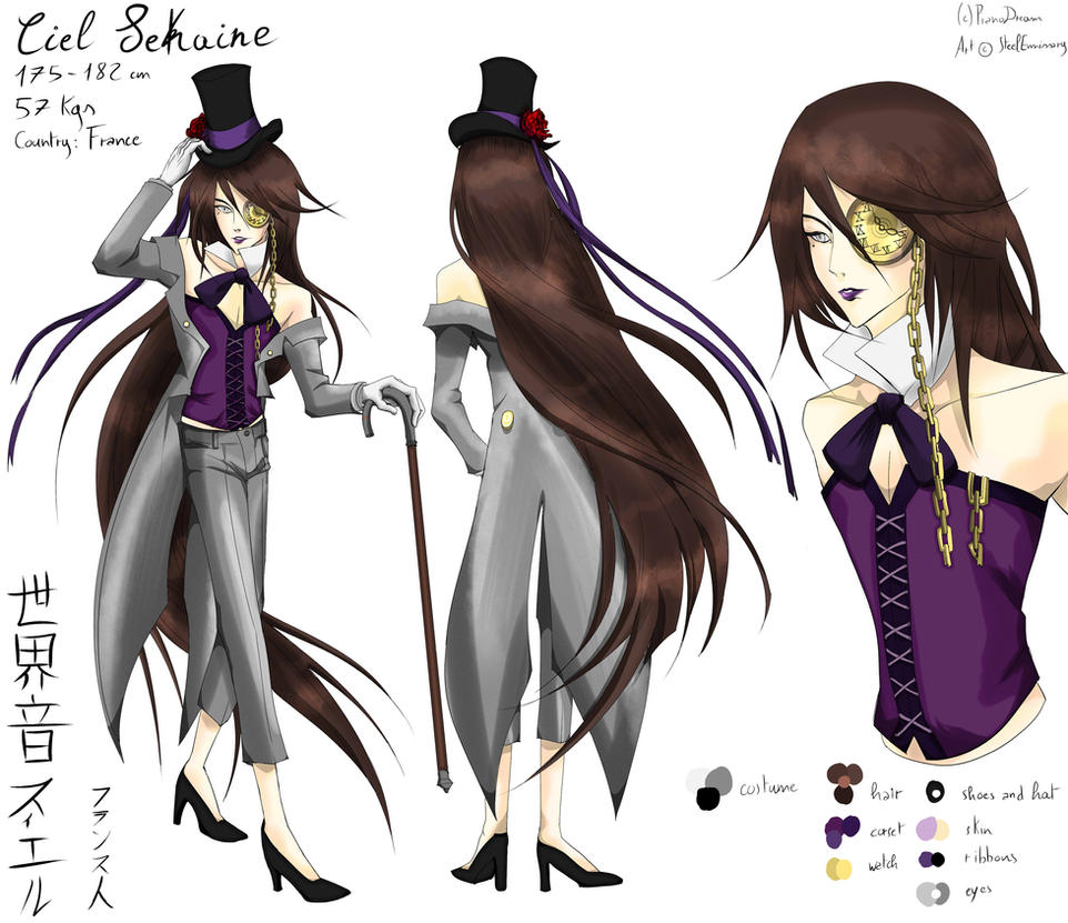 Ciel Sekaine Full Ref (color update) +VB LINK by Pianodream