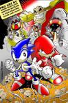 Sonic and Knux a la Steven