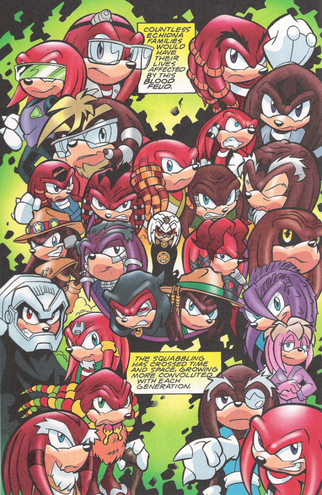 The echidna history by dudiho