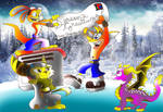 PlayStation christmas greetings