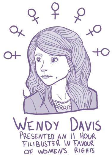Wendy Davis by FortyFourArrows