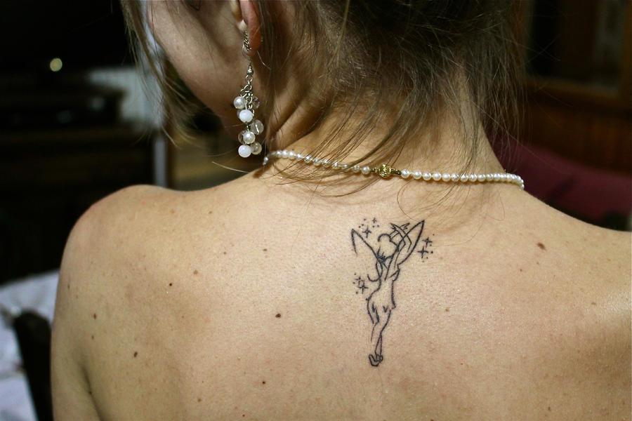 Tinkerbell Tattoo By Rapunzi Te