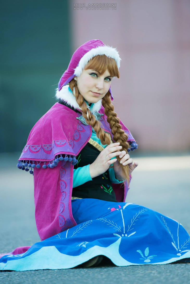 Anna from Frozen by Rapunzinette