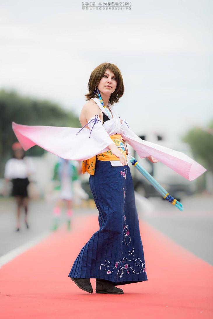 Yuna Braska from Final Fantasy X by Rapunzinette