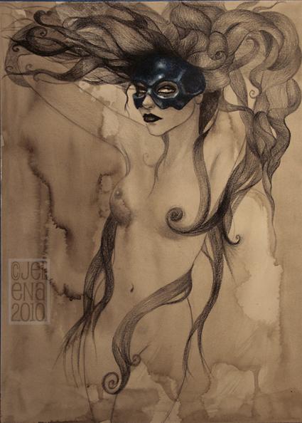 Black Lips Call by medusainfurs