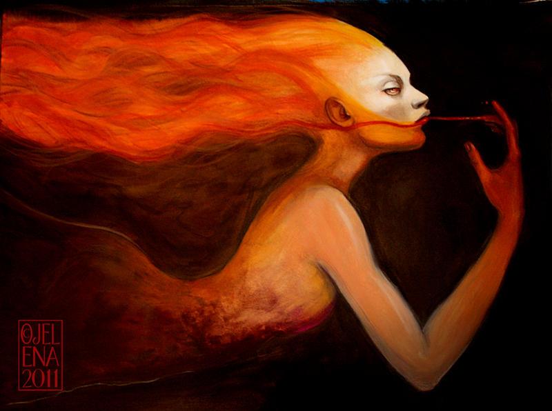 Burning by medusainfurs