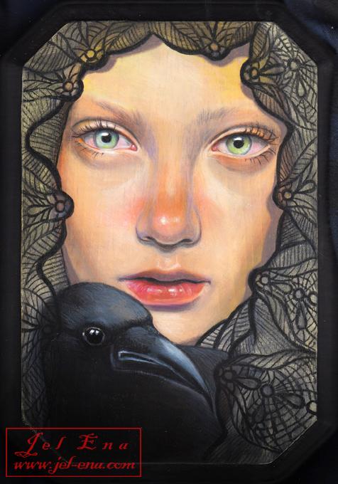Black Bird by medusainfurs