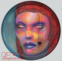 Red Queen   by Jel Ena by medusainfurs