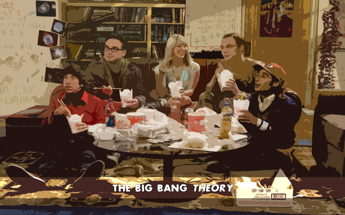 The big bang theory by Black-Pixel