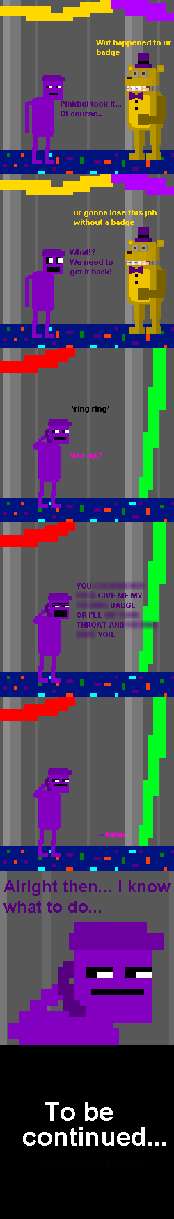 Purpleboi #9 - The Badge by PurpleBoiComics