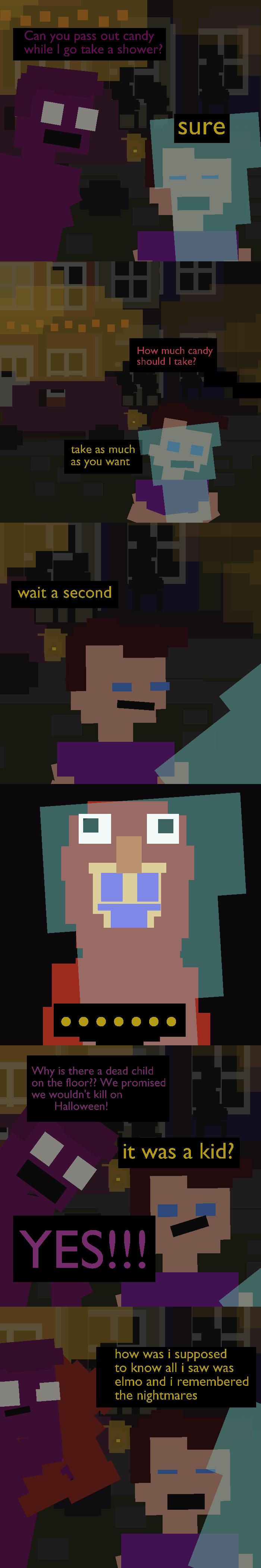 Purpleboi and Phil's Halloween by PurpleBoiComics
