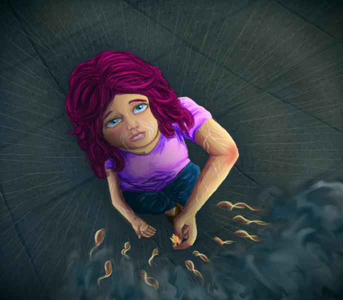 Fire to the rain by ChocolateSun