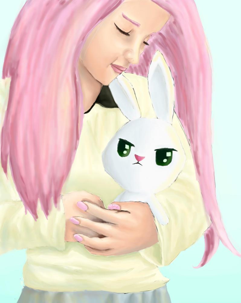Angel the bunny. by ChocolateSun