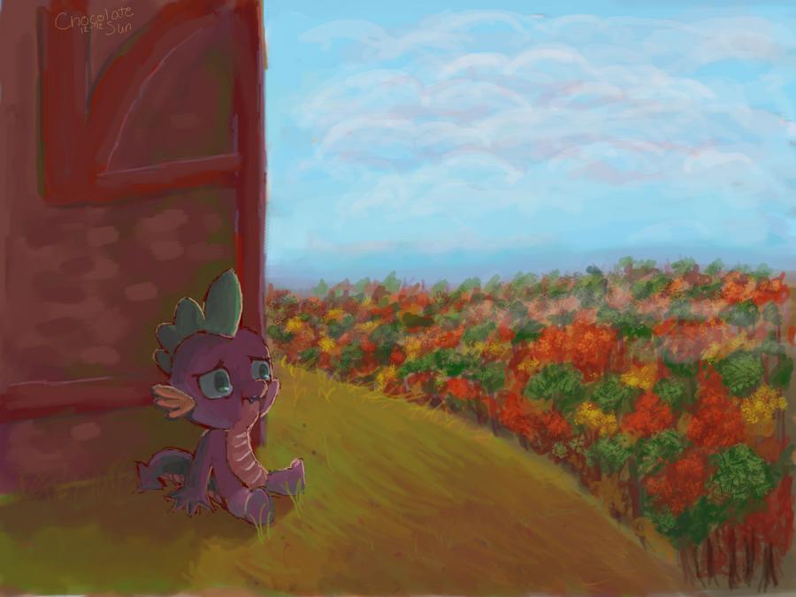 Spike. by ChocolateSun