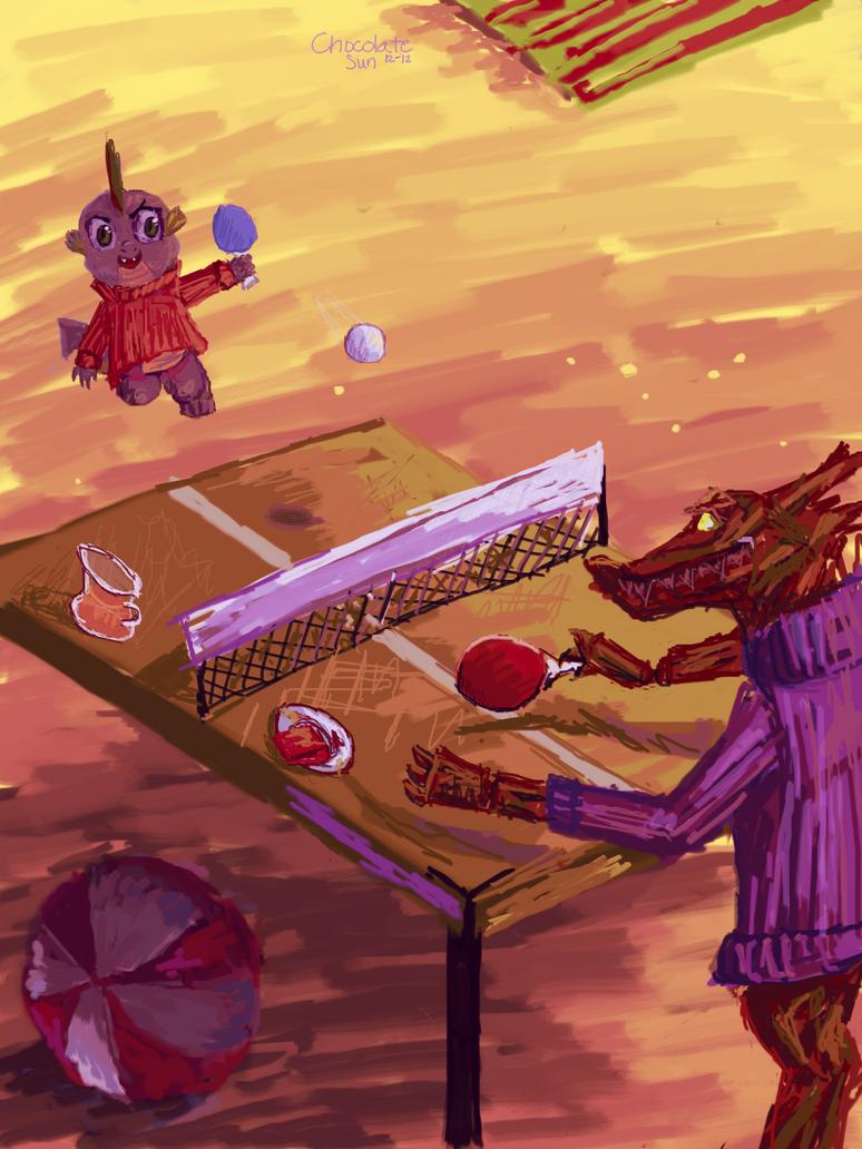 Ping-pong by ChocolateSun