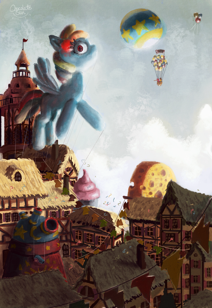 Pinkie Pride by ChocolateSun