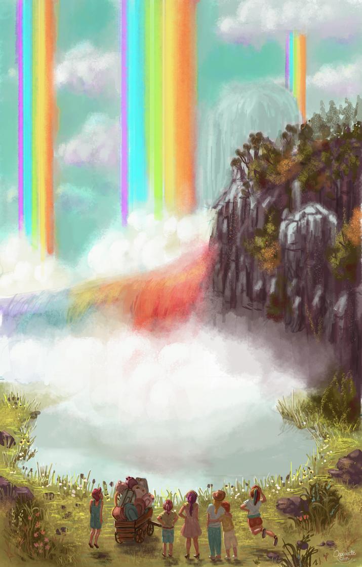 Winsome Falls by ChocolateSun