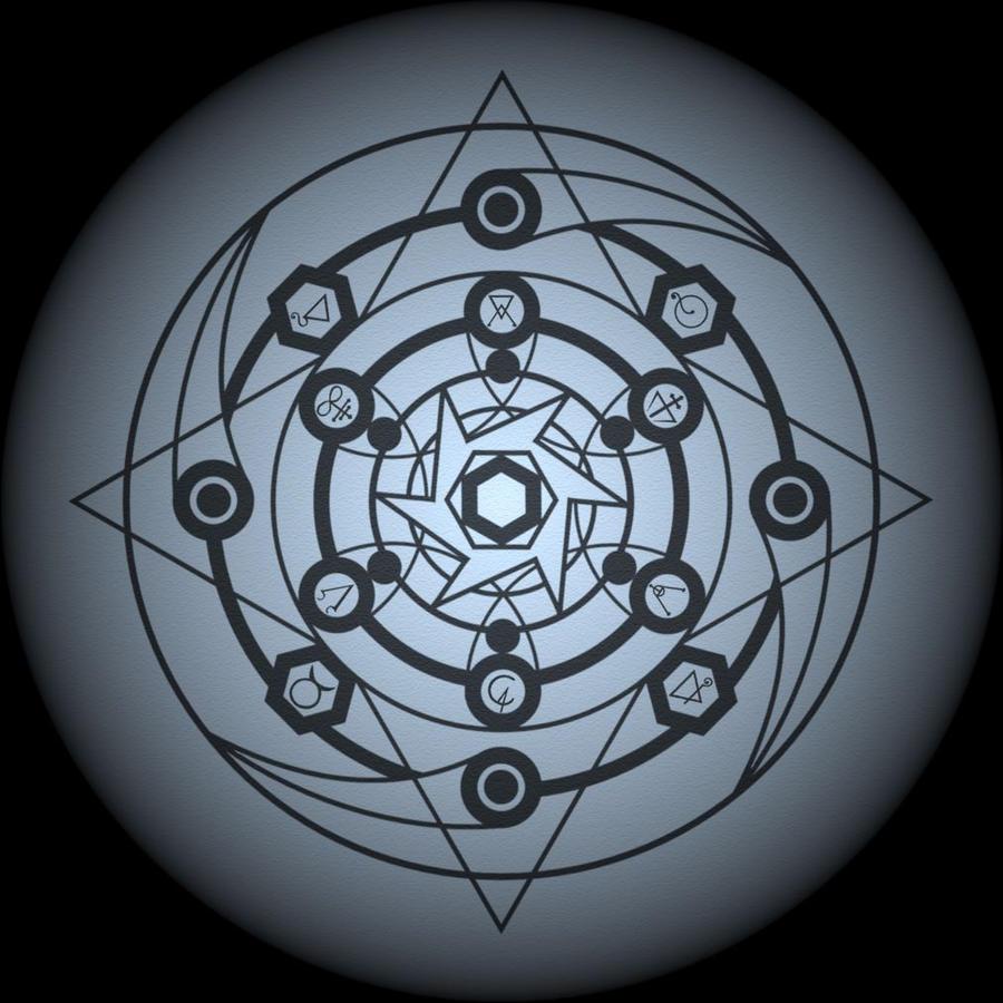transmutation circle 2nd by wojtas19 on deviantart. Black Bedroom Furniture Sets. Home Design Ideas