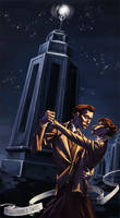 Bioshock Infinite: The Lutece Twins by HeathWind