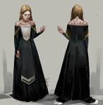 Lavellan`s Halamshiral dress