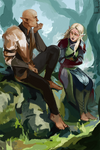 Aisling Lavellan and Solas