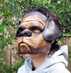 Bulldog Leather Mask