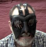 Nergal Leather Mask