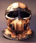 Steampunk Helmet Front View