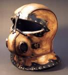 Steampunk Helmet Angled View