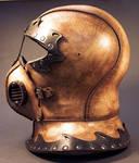 Steampunk Helmet Side View