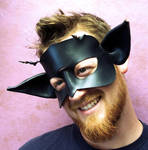 Black Faerie Mask