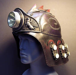 Defender Helm with Lamp