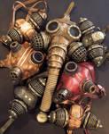 Steampunk Gas Masks
