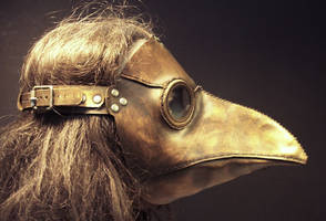 Plague Doctor Mask by TomBanwell