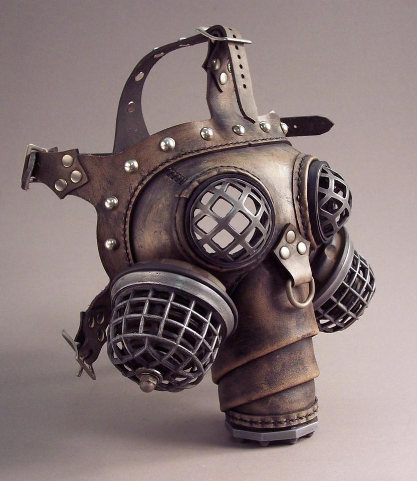 Ragnarok Steampunk Gas Mask by TomBanwell on DeviantArt