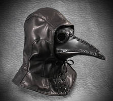 Plague Doctor Hood and Schnabel Mask