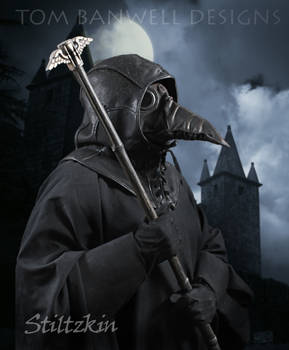 Plague Doctor Wearing the Stiltzkin Mask