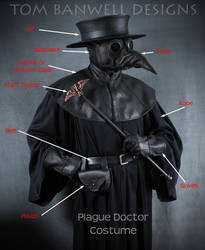 Plague Doctor costume by TomBanwell