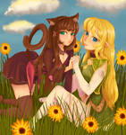 Rem And Shera by kiharu4k