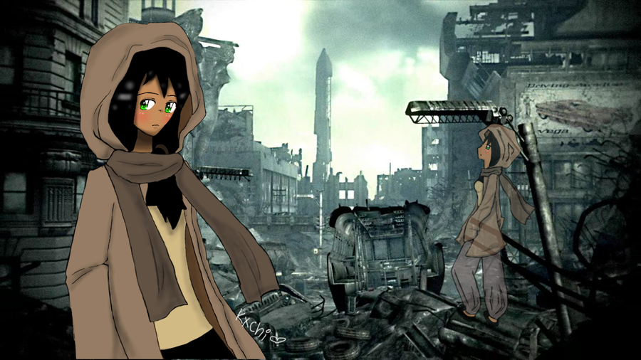 Fallout 3 Anime Characters : Art trade fallout by kxchi on deviantart