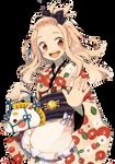 Render #3: Kimono Girl