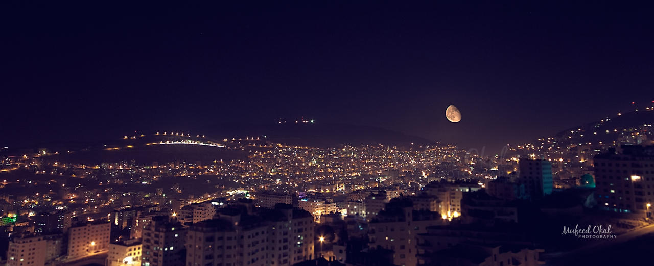 Nablus And The Moon By Mufeed On Deviantart